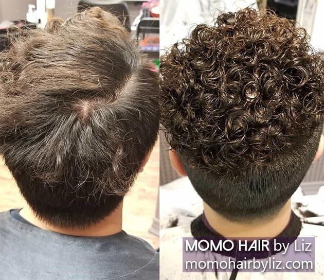 Best Men S Perm Photos Momo Hair By Liz Toronto
